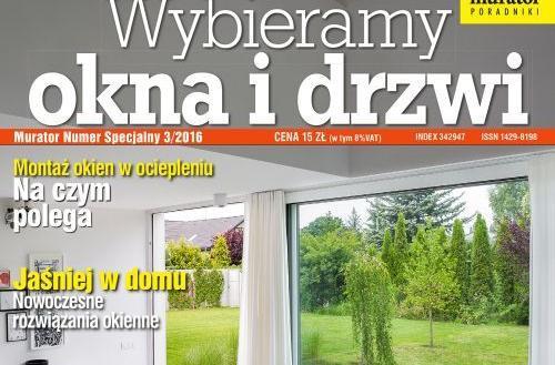 Wybieramy okna i drzwi - nowy Numer Specjalny Muratora!