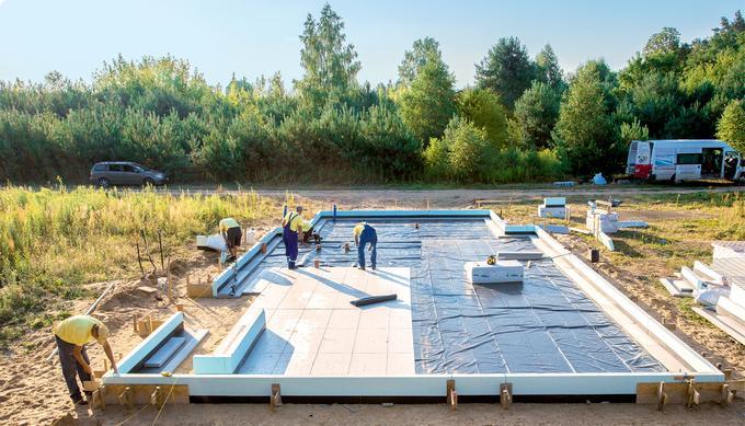 Jak izolować fundamenty